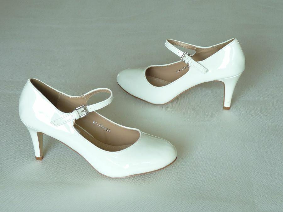 0c0aab935a Pántos női esküvői cipő - Sarokmagasság 6 - 9 cm