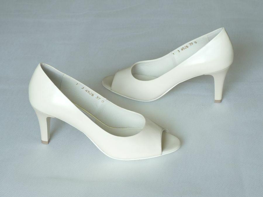 Nyitott orrú női esküvői cipő - Cathy ea4fb57406