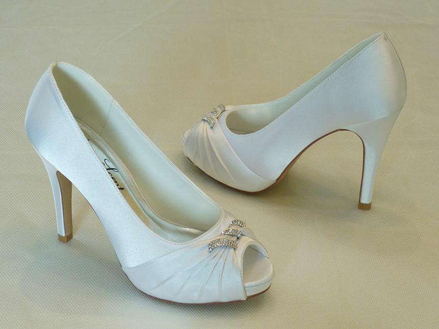 Nyitott orrú női esküvői cipő - Rose Scent db5cbaf534