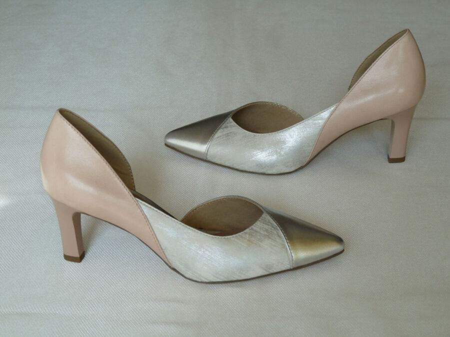 Asszimetrikus fazonú női esküvői cipő