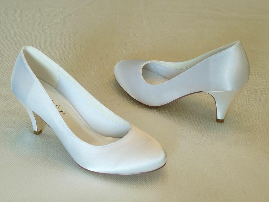 Diana – körömcipő fazonú női esküvői cipő